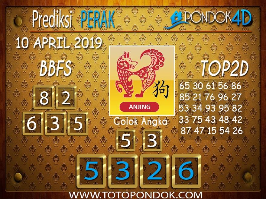 Prediksi Togel PERAK PONDOK4D 10 APRIL 2019