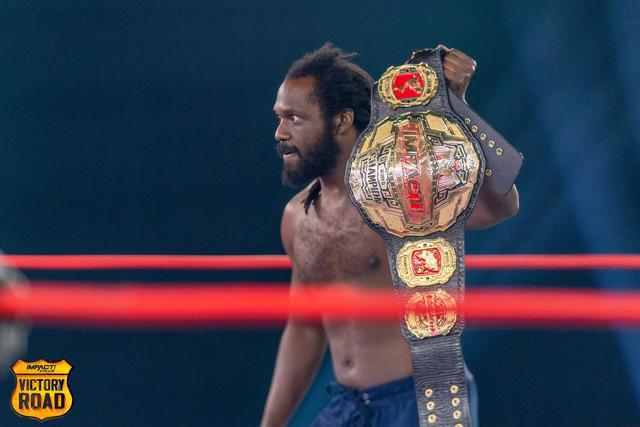 Rich Swann retador al Campeonato Mundial de Impact