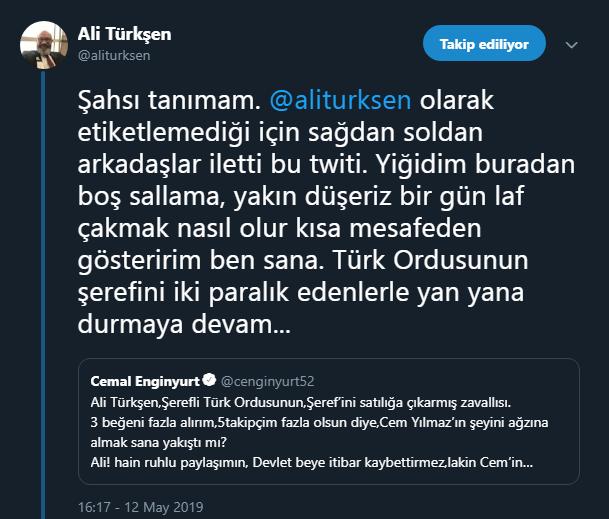 ali türkşen tweet