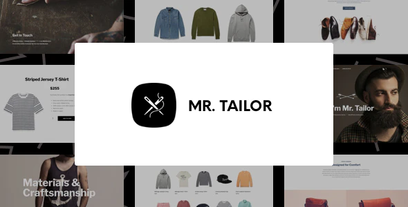 ThemeForest - Mr. Tailor v2.9.12 - Fashion and Clothing Online Store Theme for WooCommerce - 7292110