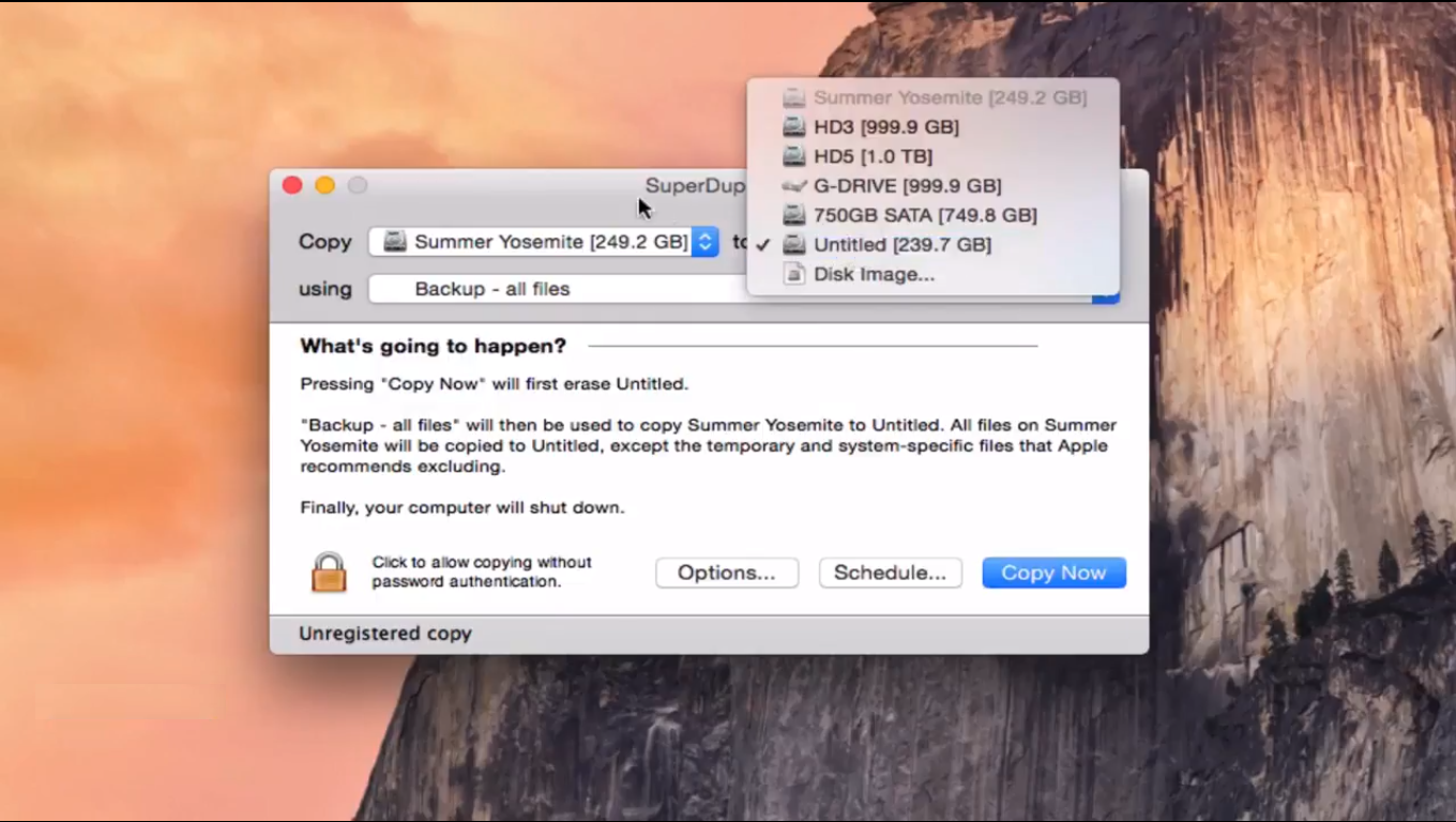 How to clone a hard drive on Mac.