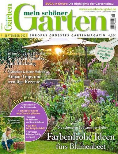 Cover: Mein schöner Garten Magazin No 09 September 2021