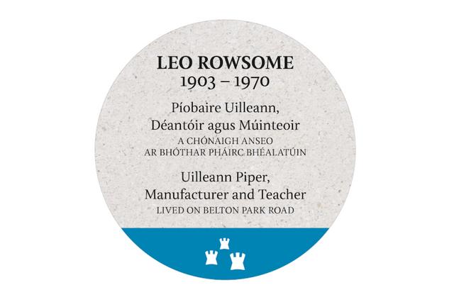 Leo-Rowsome-plaque