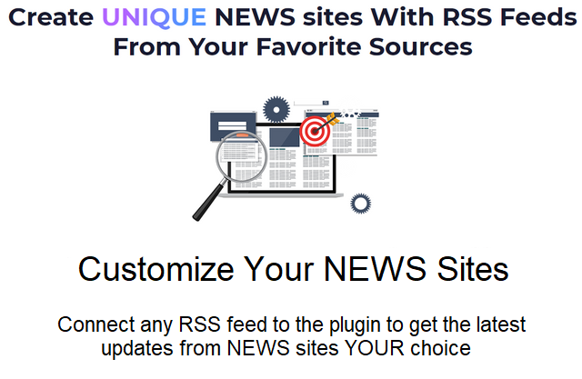 unique news sites with the Echo RSS plugin
