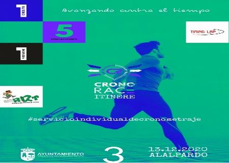 El Circuito Cronorace llega a Alalpardo el 13 de Diciembre
