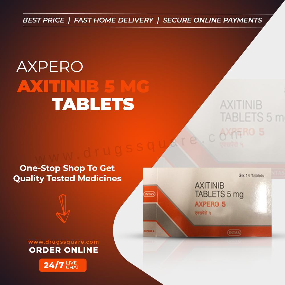 Buy Axpero Online -  дженериков акситиниба поставщика из Индии