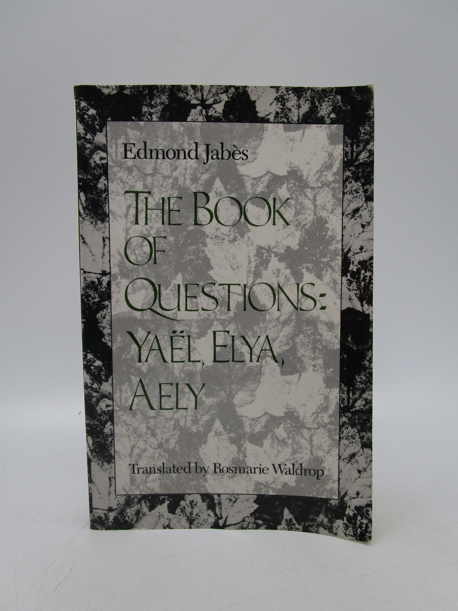 Image for Book of Questions: Yael, Elya, Aely (Volumes 4, 5, & 6)
