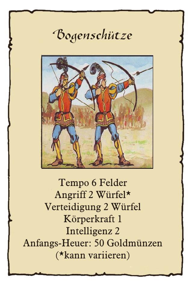 Landsknechte-Bogensch-tze