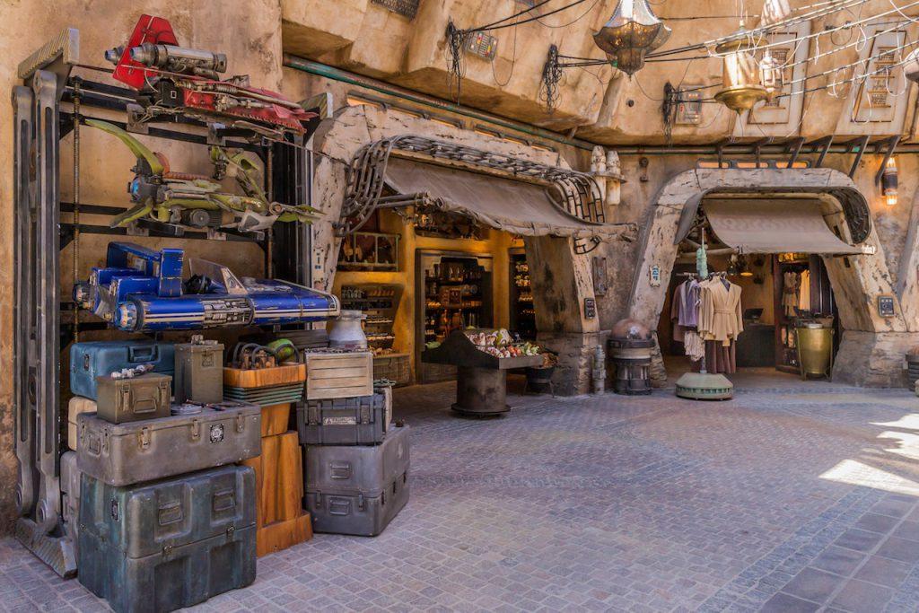 Star Wars Land marketplace