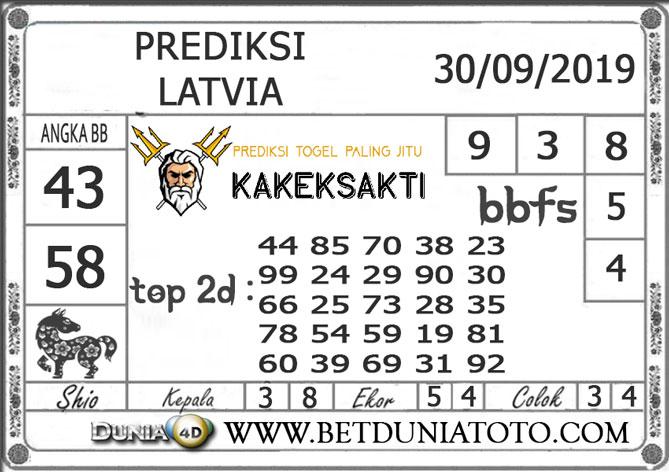"""Prediksi Togel """"LATVIA"""" DUNIA4D 30 SEPTEMBER 2019"""