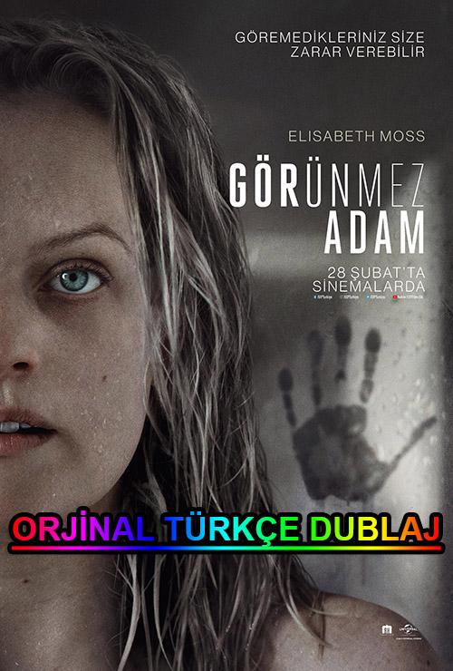 Görünmez Adam | The Invisible Man | 2020 | BDRip | XviD | Türkçe Dublaj | 4K - 1080p - m720p - m1080p | BluRay | Dual | TR-EN | Tek Link