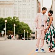 chicago engagement photoshoot