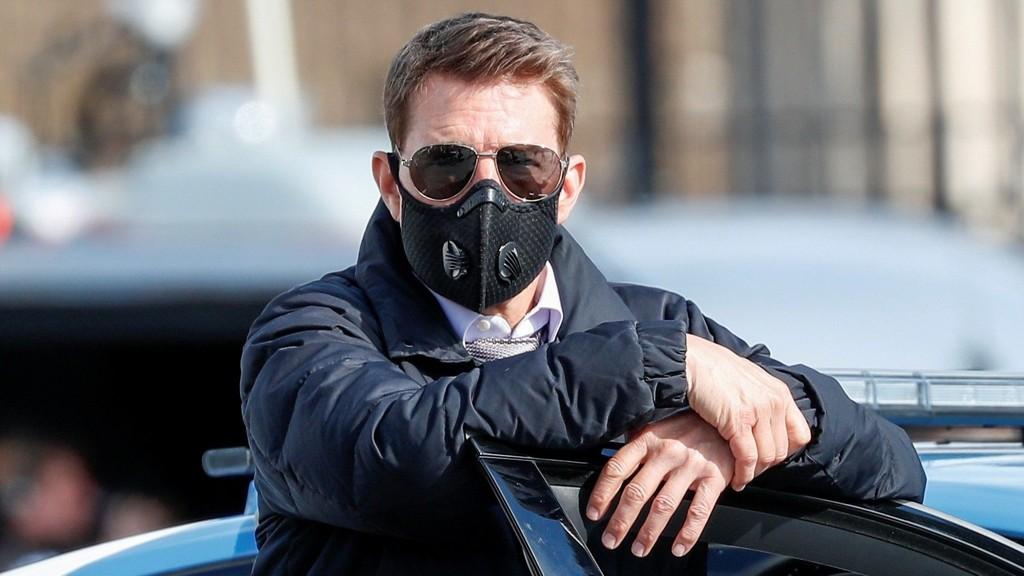 Videófelvétel Tom Cruise kiabál és káromkodik a forgatáson