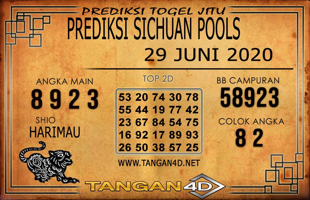 PREDIKSI TOGEL SICHUAN TANGAN4D 29 JUNI 2020