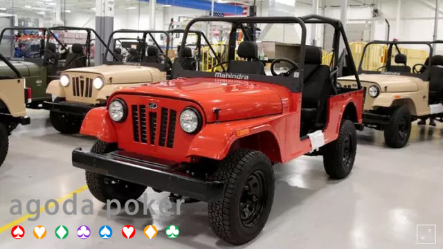 Identik dengan Desain Jeep SUV Mahindra Ditentang