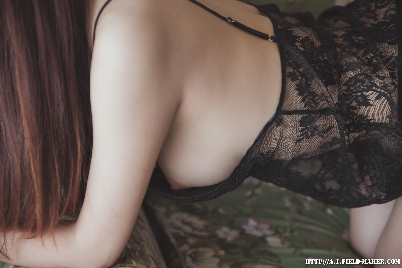 Tsubaki Album vol.006 Sheer lace pajamas 怠いお昼のパジャマ少女 sexy-nightdress-11