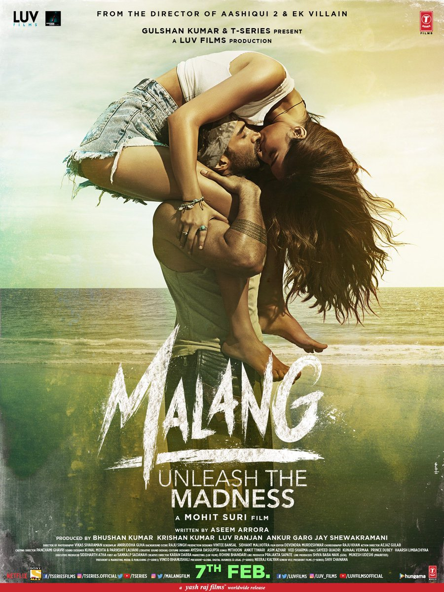 Malang (2020) Hindi 720p WEB-DL x264 1.4GB Download
