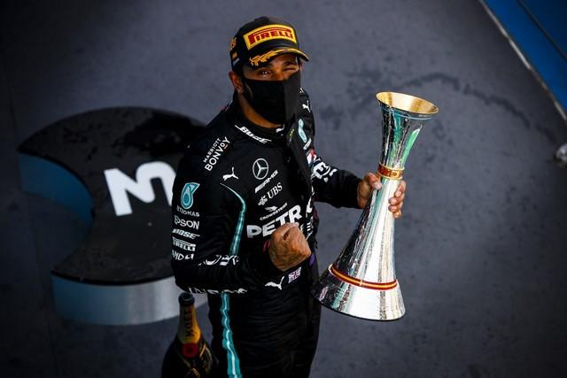 F1 GP d'Espagne 2020 : Victoire Lewis Hamilton (Mercedes) M239526
