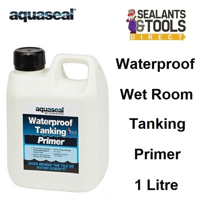 Aquaseal Wet Room Tanking & Plasterboard Primer AQWRSPRIME1