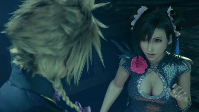 根據官方設定集《Final Fantasy VII Remake Material Ultimania》描述,蒂法的bra是日本型號的G70/歐美型號32DDD Image