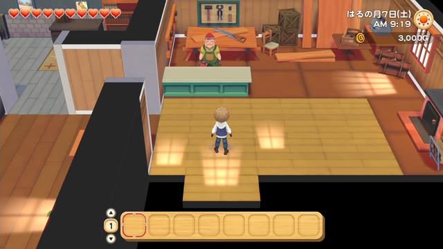 「牧場物語」系列首次在Nintendo SwitchTM平台推出全新製作的作品!  『牧場物語 橄欖鎮與希望的大地』 於今日2月25日(四)發售 049