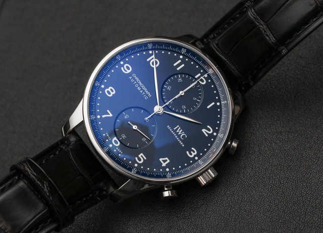 IWC Portugieser Chronograph Edition 150 Years a Blogto Watch 01