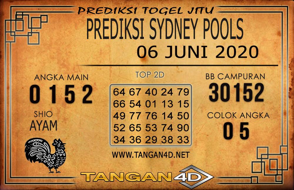 PREDIKSI TOGEL SYDNEY TANGAN4D 06 JUNI 2020