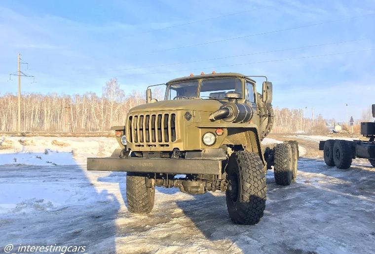 Урал-432007-30 - мощь