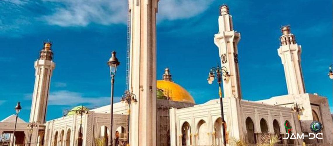Новая мечеть в Сенегале