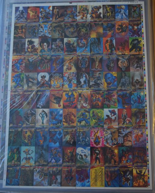 X-Men-Fleer-Ultra-Wolverine-1996-Uncut-Sheet-1