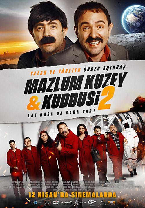 Mazlum Kuzey & Kuddusi 2: La! Kasada Para Var! | 2019 | Yerli Film | WEB-DL | XviD | Sansürsüz | 1080p - m720p - m1080p | WEB-DL | Tek Link