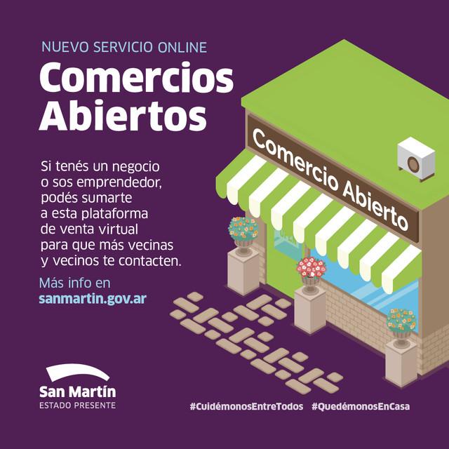 San-Mart-n-se-suma-al-programa-Comercios-Abiertos