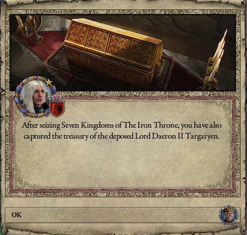 Daemon loots the treasury...