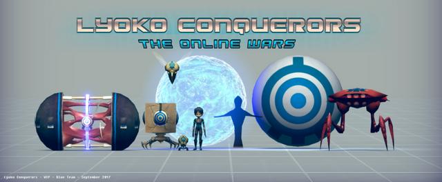 Lyoko Conquerors Blue Team