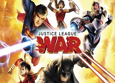 Justice League : War (2014) 480p + 720p + 1080p BluRay x264 English BD5.1 ESub 218MB + 963MB + 3.88GB Download | Watch Online