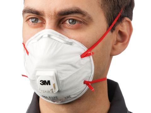 Респираторная маска FFP3 3M 8132