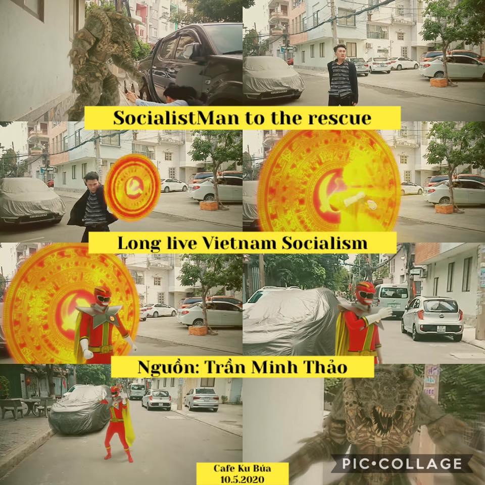 SOCIALISTMAN – SUPERMAN CỦA VIỆT NAM