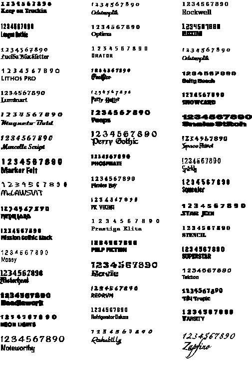 fonts for website 2