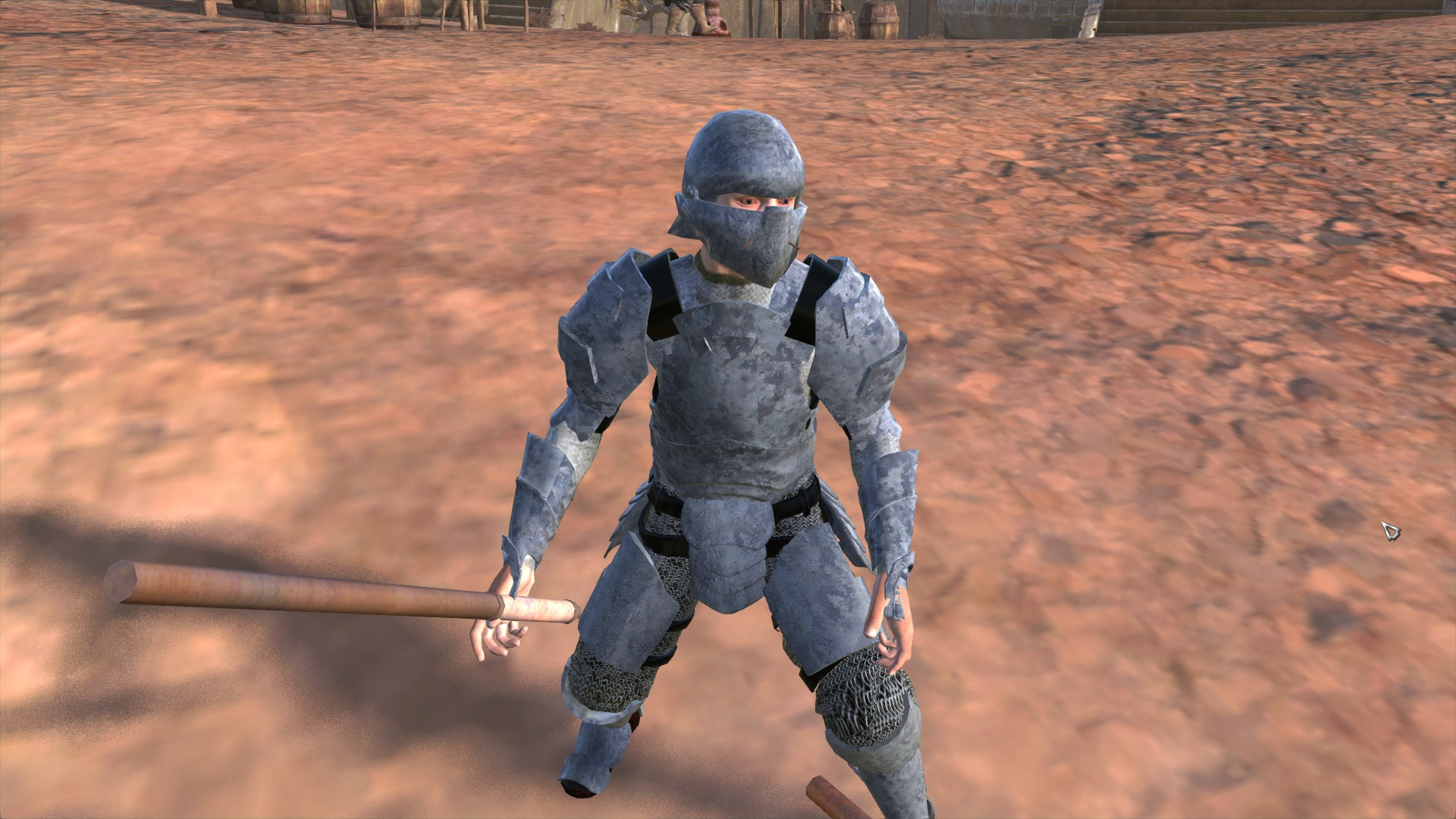 Mercenary Full Plate / Полные латы наёмника (RU)