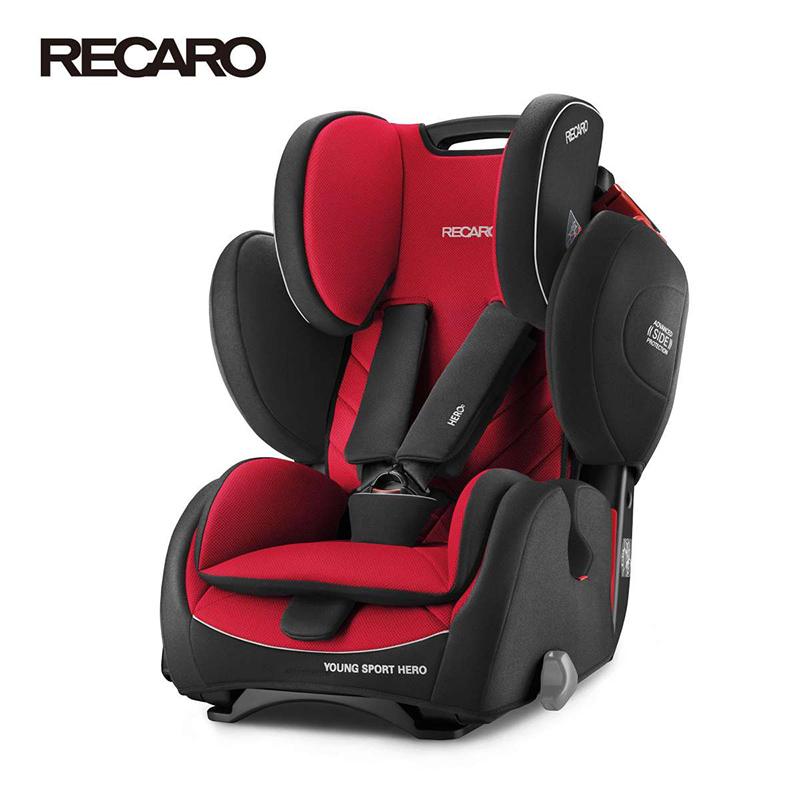 Recaro-YOUNG-SPORT-HERO-Racing-Red