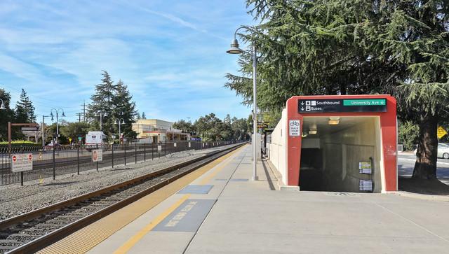 Caltrain-tracks