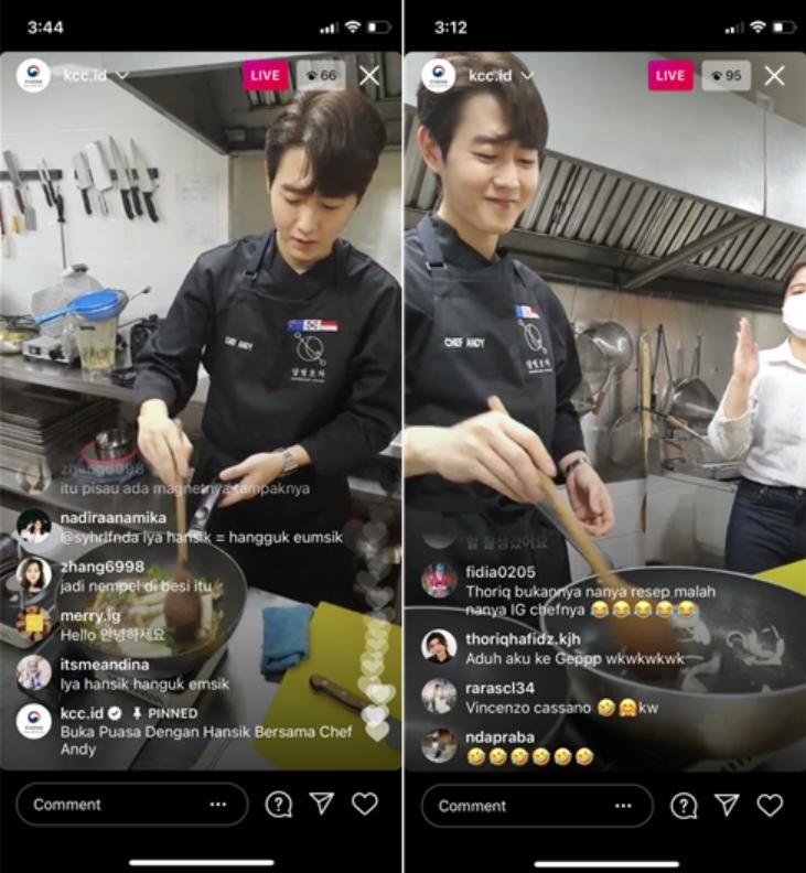 demo masak makanan Korea (saungkorea.com)