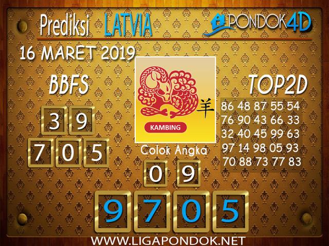 Prediksi Togel LATVIA PONDOK4D 16 MARET 2019