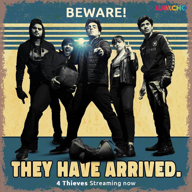 4 Thieves S01 2020 Complete Hindi Web Series Watcho Originals WEB-DL x264 350MB 480p