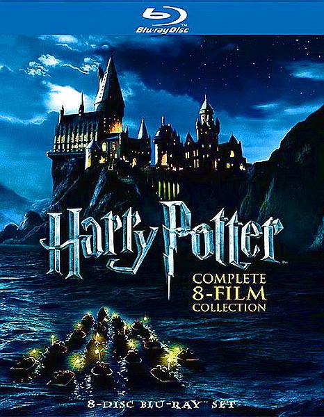 Гарри Поттер: Полное собрание 8 фильмов + Доп. Материалы (2011) (Harry Potter: Collection + Supplements)