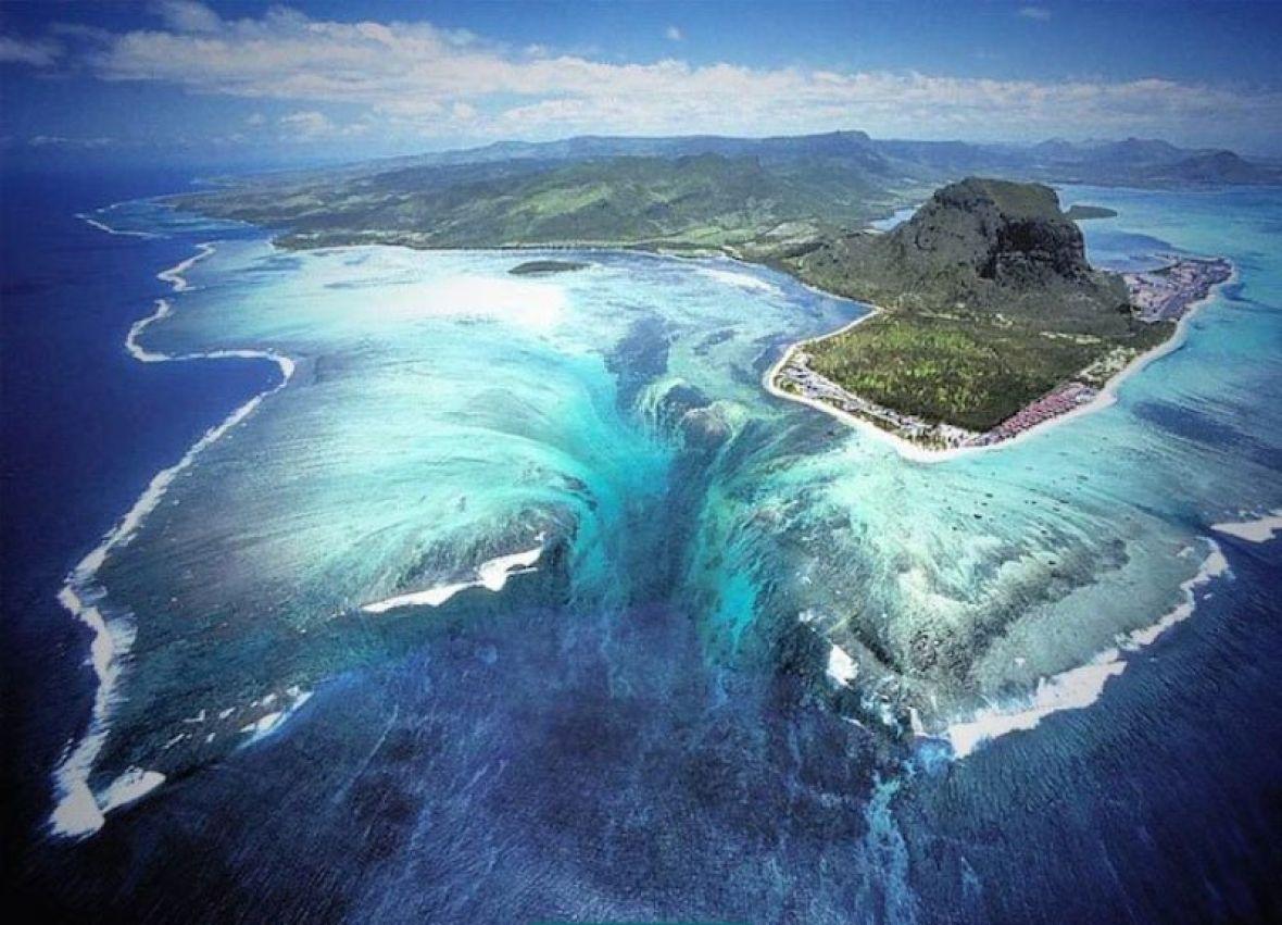 VIDEO: Najveći vodopad na svijetu nalazi se ispod okeana