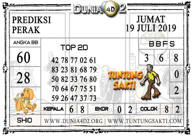 """Prediksi Togel """"PERAK"""" DUNIA4D2 19 JULI 2019"""