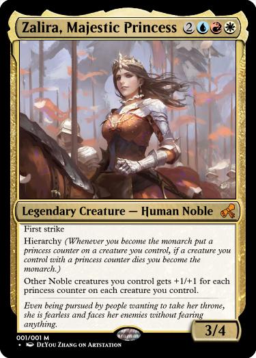 Zalira's Majestic Princess