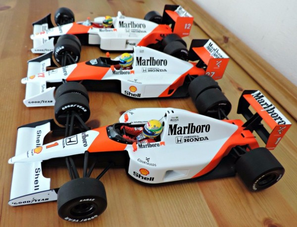 Senna World Champion Cars 1988,90,91