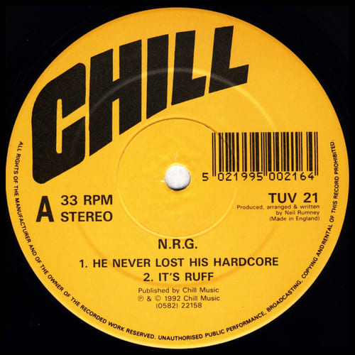 N.R.G. - He Never Lost His Hardcore